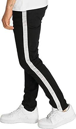Criminal Damage Weiße enge Jeans mit Zierrissen Herren Jeans