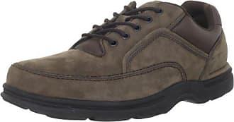 Rockport Mens Eureka Walking Shoe, Chocolate Nubuck, 10.5 2E US