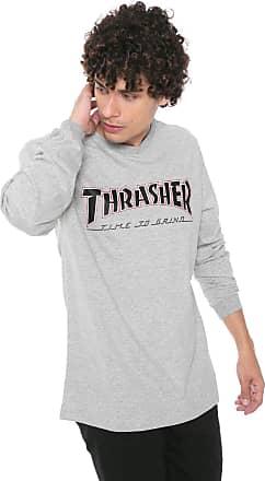Independent Camiseta Independent Thrasher Cinza