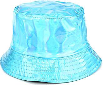 Loud Elephant Firefly Shiny Metallic Bucket Hat - Turquoise