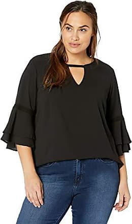 Junarose Womens Plus Size Jossi Three Quarter Sleeve Blouse