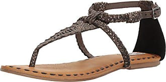 Not Rated Womens Zolin Gladiator Sandal, Taupe, 6 M US
