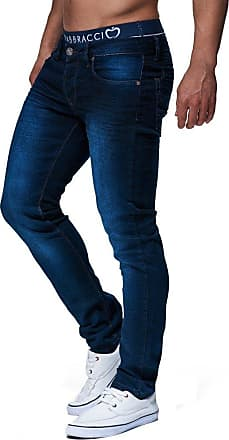 LEIF NELSON Mens Jeans Trousers Pants LN-303 Blue W34/L32