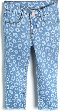 Hering Kids Calça Jeans Hering Kids Infantil Onça Azul