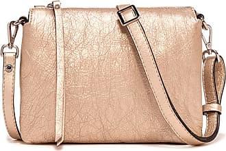 Gianni Chiarini three medium bronze tone handbag