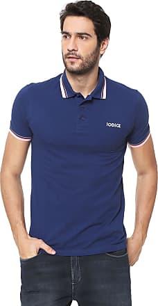 Iodice Camisa Polo Iódice Logo Azul-marinho
