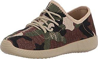 Qupid Womens NACARA-01 Sneaker, Khaki Camouflage, 6 M US