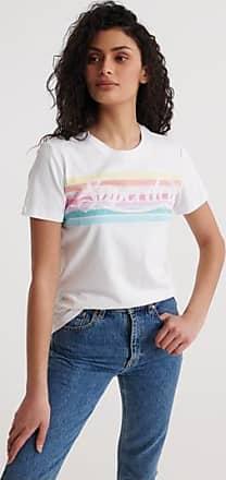 Superdry Premium Logo Rainbow T-Shirt