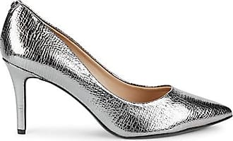 Karl Lagerfeld Textured Leather Pumps