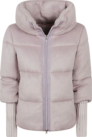 Herno Fashion Woman PI067DR122554150 Pink Polyester Down Jacket | Fall Winter 20