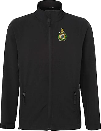 Military Online Kings Own Scottish Borderers KOSB - Army - Embroidered Softshell Jacket Black