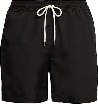Polo Ralph Lauren Block-coloured Swim Shorts - Mens - Black