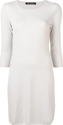 Iris Von Arnim Vestido de tricô - Cinza
