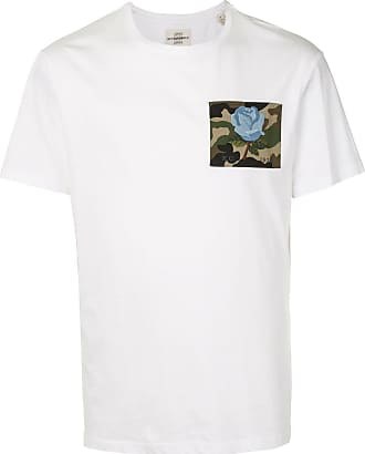 Kent & Curwen short sleeve embroidered patch T-shirt - White