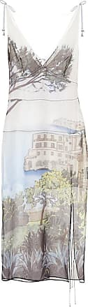 Altuzarra Ponza printed silk midi dress