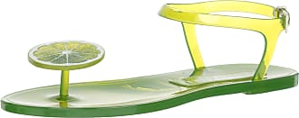 Katy Perry Womens The GELI Flat Sandal, Lime, 5 UK