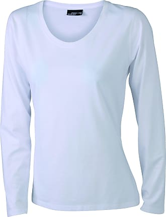 2Store24 Ladies Shirt Long-Sleeved Medium in White Size: XXL