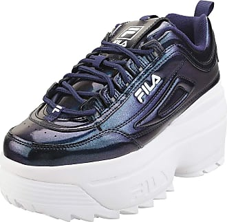 Fila Disruptor 3 Galactic Gaze Womens Prince Blue/White Trainers-UK 4 / EU 37.5
