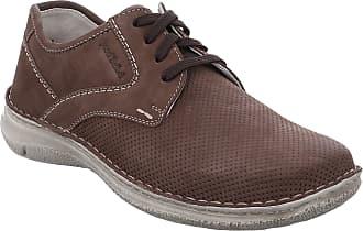 Josef Seibel Men Lace-Up Flats SMU-Anvers 43, Men´s Casual lace-up,Trainer,Sneaker, Low Shoe,lace-up Shoe,Derby Lacing,Brandy,50 EU / 15 UK