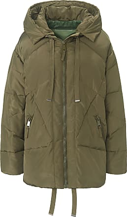 White Label Quilted jacket in oversized style White Label green