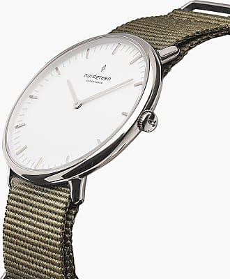Nordgreen Native - Silver | Nylon Bohème - 40mm / Silver