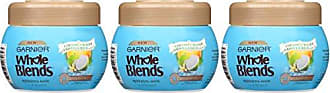 Garnier Hair Care Whole Blends Hydrating Hair Mask with Coconut Water & Vanilla Milk Extracts, 3 Count