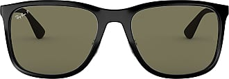 Ray-Ban Mens 0RB4313 Sunglasses, Black, 57