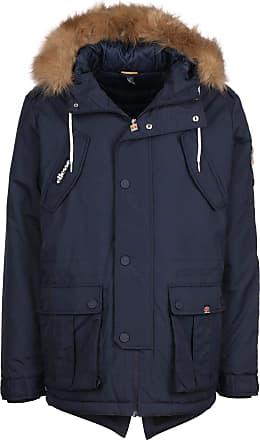Ellesse Mens Blizzard Parka Jacket, Blue, XL