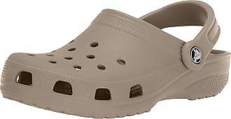 Crocs Unisex-Adults Classic Clogs, Brown (Khaki), M10/W11 UK (45/46 EU)