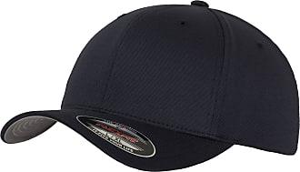 Yupoong Mens Flexfit Fitted Baseball Cap (LXL) (Dark Navy)