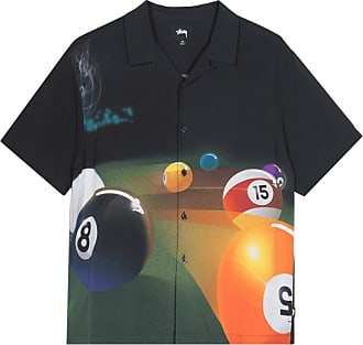 Stüssy Stussy Pool hall shortsleeve shirt BLACK XL