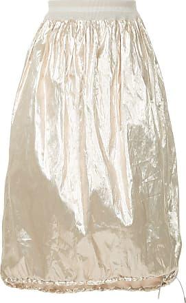 Fabiana Filippi lightweight metallic skirt