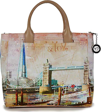 Y Not YNOT SHOPPING BAG SMALL YES-419S0 LONDON SHARD
