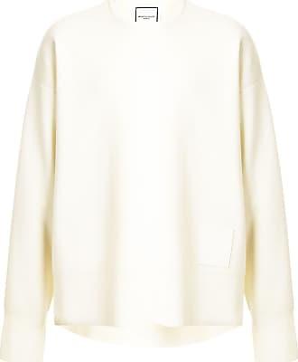 Wooyoungmi Suéter com patch de logo - Branco