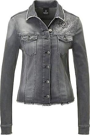 jeansjacke grau schwarz damen