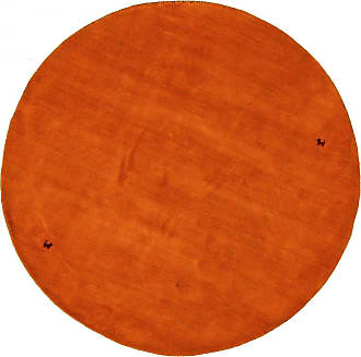 Nain Trading 156x154 Loom Gabbeh Rug Round Orange (Indien, Handwork, Wool)