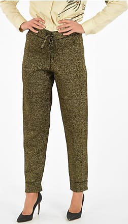 Dries Van Noten Glittered MANUELA Pants Größe S