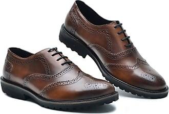 Generico Sapato social masculino, em legitimo couro bovino tipo finioli, solado de borracha modelo P5000 numeração 37 ao 49 (41, P5000 Finioli Whisky)