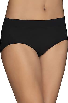 Vanity Fair Womens Beyond Comfort Hipster Panty 18212, Black, 10