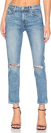 GRLFRND x REVOLVE PETITE Naomi High-Rise Jean in Blue