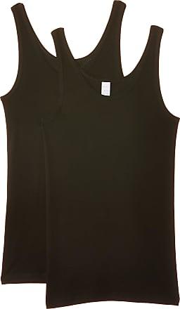 Naturana Womens Vest womens undervest Vest, Black, 52 (Manufacturer Size: 5XL)