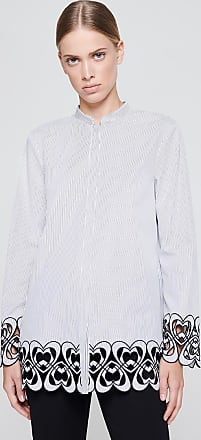 Escada Sport Broderie Stripe Shirt