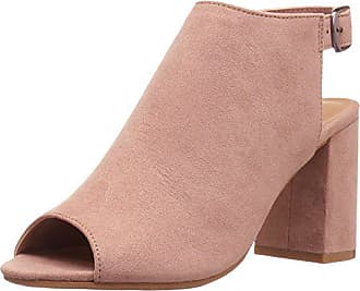 Chinese Laundry Womens Bestie Peep Toe Bootie, Powder Super Suede, 9.5 M US