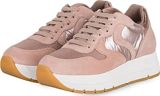 Voile Blanche Plateau-Sneaker MARAN - ROSE