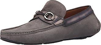 Magnanni Mens Ringo Slip-On Loafer, Grey, 9 M US