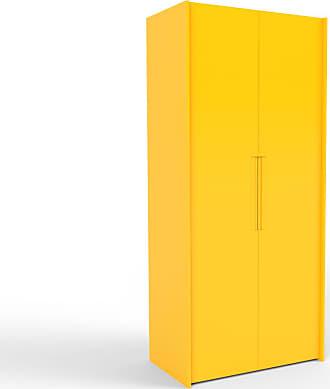 MYCS Kleiderschrank Gelb - Individueller Designer-Kleiderschrank - 104 x 233 x 62 cm, Selbst Designen, Kleiderstange