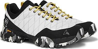Roa + Brain Dead Oblique Ripstop And Rubber Sneakers - Off-white