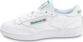 20cc02d1d1a Reebok®   Baskets En Cuir en Blanc jusqu  à −20%