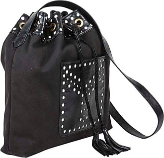 0c54bd7f29 Saint Laurent Vintage Yves Saint Laurent y Bag In Black And White Fabric