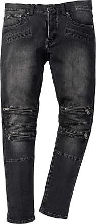 0089d1f4b2 Bonprix Jeans elasticizzato skinny fit straight (Nero) - RAINBOW